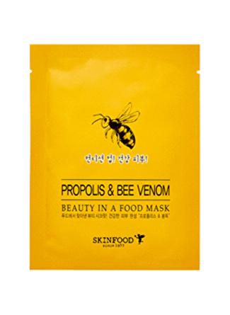 Skinfood Beauty in a Food Tek Kullanımlık Propolis & Bee VeNom Bakım Maskesi