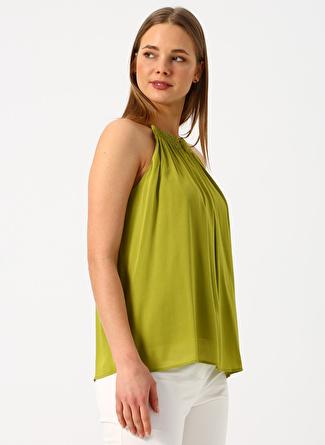 FEMINEN Yeşil Bluz