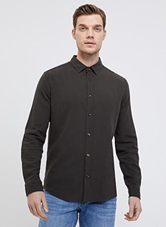 Loft Haki Regular Fit Gömlek