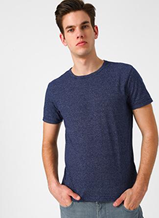 Loft Çizgili Lacivert T-Shirt