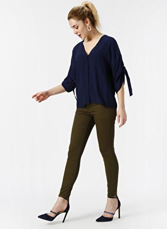 Vero Moda Skinny Haki Denim Pantolon