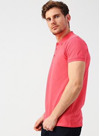 Twister Jeans Polo Yaka Gül Kurusu T-Shirt
