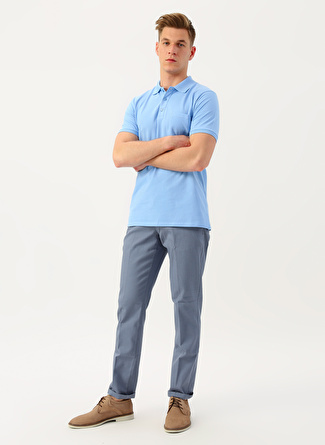 L Açık Mavi Altınyıldız Classic Gri T-Shirt 5002396143004 Erkek Giyim T-shirt & Atlet