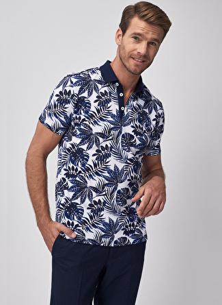 S Lacivert - Beyaz Altınyıldız Classic Altinyildiz T-Shirt 5002396196003 Erkek Giyim T-shirt & Atlet