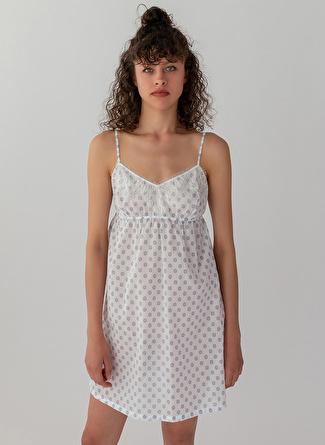 M Gri Melanj Hays Gecelik 5002396227002 Kadın İç Giyim