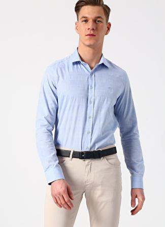 XL Mavi Beymen Business Gömlek 5002396410004 Erkek Giyim