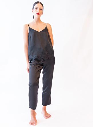 XS Siyah Hays Pijama Alt 5002396472005 Kadın İç Giyim