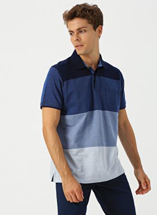 5XL Lacivert Beymen Business Çizgili T-Shirt 5002396520003 Erkek Giyim T-shirt & Atlet