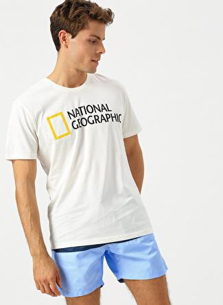National Geographic Lacivert - Mavi Şort Mayo