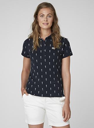 Helly Hansen W Siren Polo Lacivert Polo T-Shirt