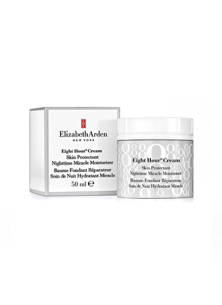 Elizabeth Arden Eight Hour Skin Protectant Nightime Miracle Moisturizer Onarıcı Krem