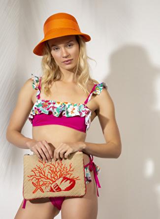 BELLİSA Desenli Bikini Takım