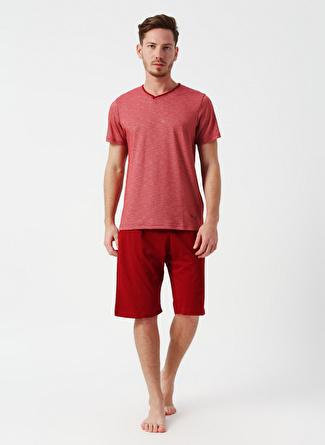Arnetta Bordo Pijama Takımı