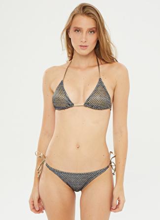 Aquella Lacivert Bikini Takım