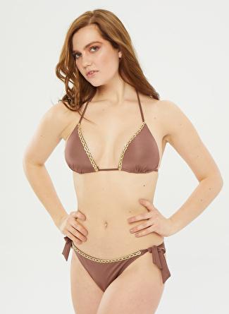 Aquella Sütlü Kahve Bikini Takım
