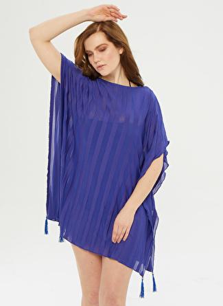 Aquella Mavi Kimono