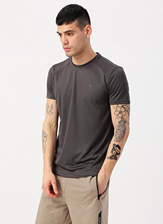 L Antrasit Exuma T-Shirt 5002422345001 Spor Erkek Giyim T-shirt