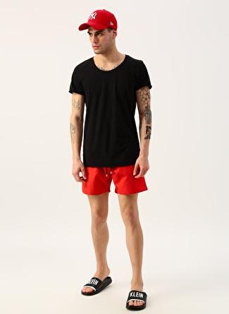 L Kırmızı Exuma Şort Mayo 5002422362001 Erkek Plaj Giyim
