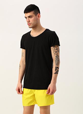 L Sarı Exuma Şort Mayo 5002422363001 Erkek Plaj Giyim