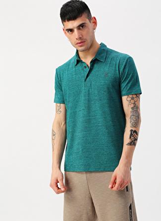 L Petrol Exuma Polo T-Shirt 5002422369001 Spor Erkek Giyim T-shirt