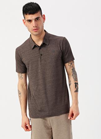 L Bej Exuma Camel Polo Yaka T-Shirt 5002422370001 Spor Erkek Giyim T-shirt