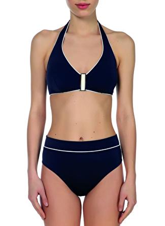 40 Lacivert Zeki Sea Bikini Takım 5002422390002 Kadın Plaj Modası Giyim