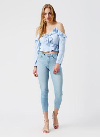 36 Açık Mavi İpekyol Ipekyol Denim Pantolon 5002422477001 Kadın Giyim Jean