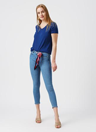40 Mavi İpekyol Ipekyol Denim Pantolon 5002422478004 Kadın Giyim Jean