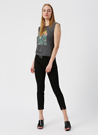 34 Siyah Twist Pantolon 5002422503001 Kadın Giyim