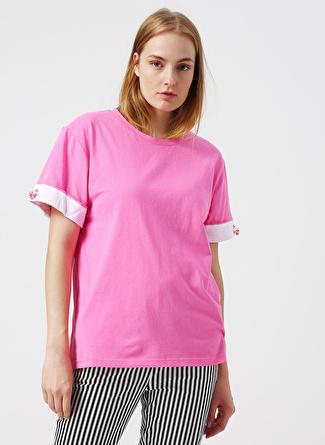 S Pembe Twist Bluz 5002422532003 Kadın Giyim Gömlek &