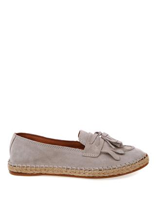 40 Vizon Divarese Loafer 5002422566005 Ayakkabı & Çanta Kadın
