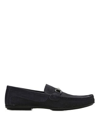 44 Lacivert Divarese Klasik Ayakkabı 5002422568005 & Çanta Erkek
