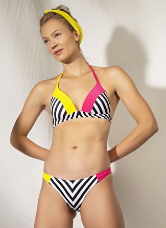 38 Çok Renkli Argento Bikini Takım 5002422598002 Kadın Plaj Modası Giyim