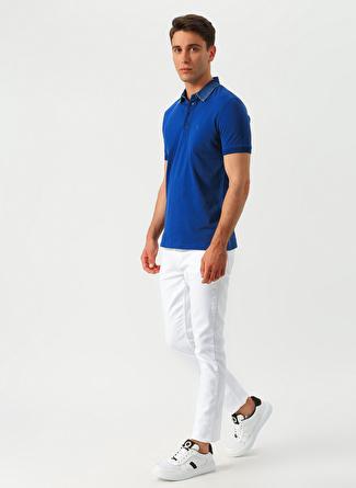 31 Beyaz Limon Slim Fit Klasik Pantolon 5002422627002 Erkek Giyim