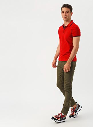 34 Haki Limon Luke Klasik Pantolon 5002422629005 Erkek Giyim