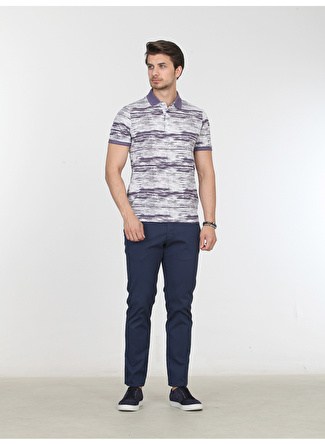 M Koyu Mor Kip T-Shirt 5002422846004 Erkek Giyim T-shirt & Atlet