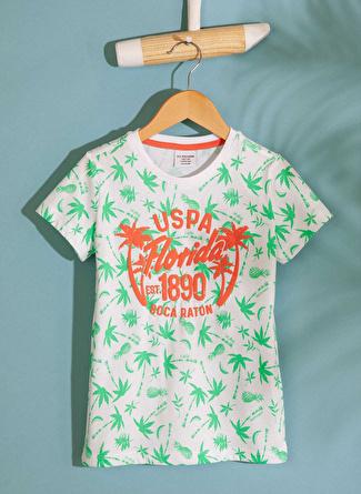 3-4 Yaş Erkek İndigo U.S. Polo Assn. T-Shirt 5002422912001 Çocuk Giyim T-shirt