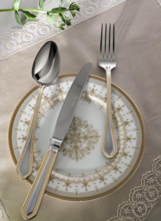 unisex Altın Pierre Cardin Marki Gold Çatal Bıçak Kaşık Seti 5002423180001 Ev Mutfak & Sofra Ürünleri
