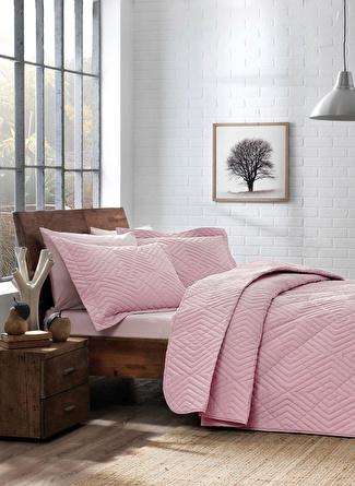 180 X 240 cm unisex Pembe Taç Mono Yatak Örtüsü Takımı 5002423214001 Ev Tekstili