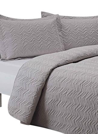 260 X 250 cm unisex Gri Taç Blaze Yatak Örtüsü 5002423246001 Ev Tekstili