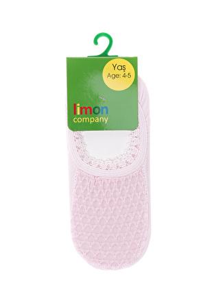 Limon Company Pembe Spor Çorap