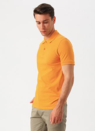 İgs Polo Yaka Hardal T-Shirt