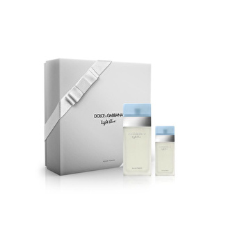 Dolce & Gabbana Light Blue Edt 100 ml + 25 ml Edt Parfüm Set
