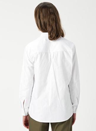NORTH OF NAVY Beyaz Gömlek