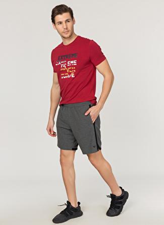 M Koyu Gri Bilcee Şort 5002438393002 Spor Erkek Giyim