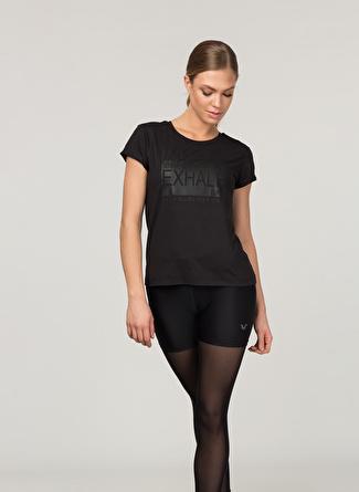 M Siyah Bilcee T-Shirt 5002438398003 Spor Kadın Giyim T-shirt