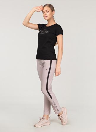 M Siyah Bilcee T-Shirt 5002438399003 Spor Kadın Giyim T-shirt