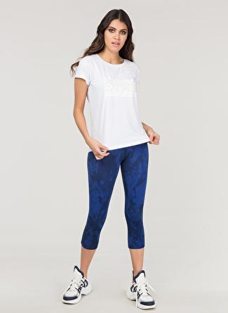 XS Beyaz Bilcee T-Shirt 5002438412001 Spor Kadın Giyim T-shirt