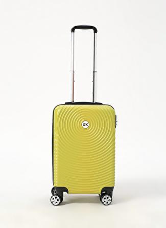 unisex Renksiz Ox Kabin Boy Çekçekli Sert Valiz 5002438466001 Ayakkabı & Çanta Seyahat Çantası