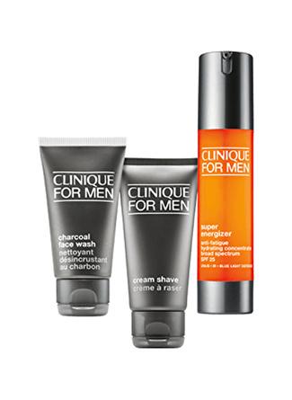 Erkek Renksiz Clinique Daily Energy and Protection Cilt Bakım Seti 5002438530001 Kozmetik Bakımı Setleri